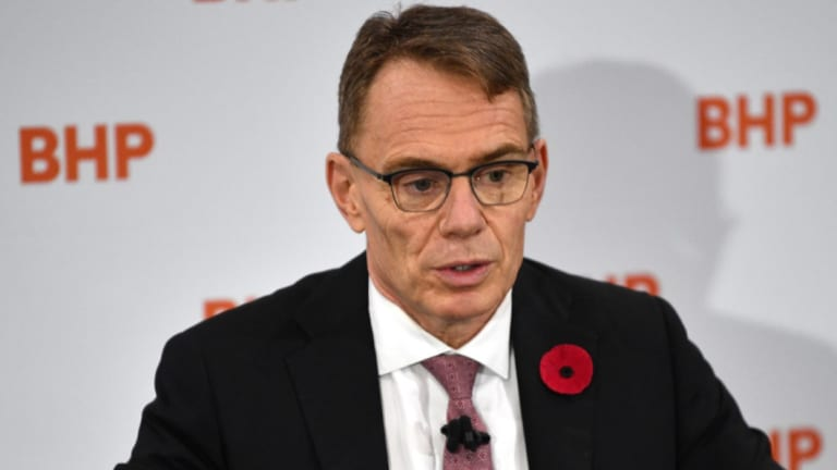 BHP chief executive Andrew Mackenzie.
