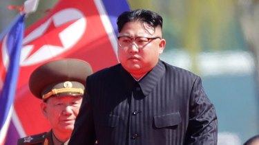 North Korea's leader Kim Jong-un.