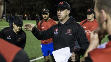 Simon Cron led Norths to their first Shute Shield premiership in 41 years in 2016.