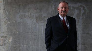 Boral chief executive Mike Kane.