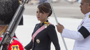 Thai Princess Ubolratana Rajakanya Mahidol announced her candidacy on Friday.