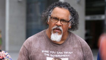 Wangan and Jagalingou traditional owner Adrian Burragubba.