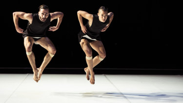 Dancers work with their own centres of gravity.