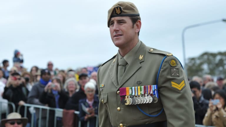 Ben Roberts-Smith is one of three living recipients of the Victoria Cross for Australia.