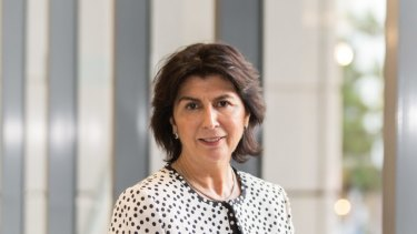 The future chair of Freedom Insurance, Pauline Vamos.