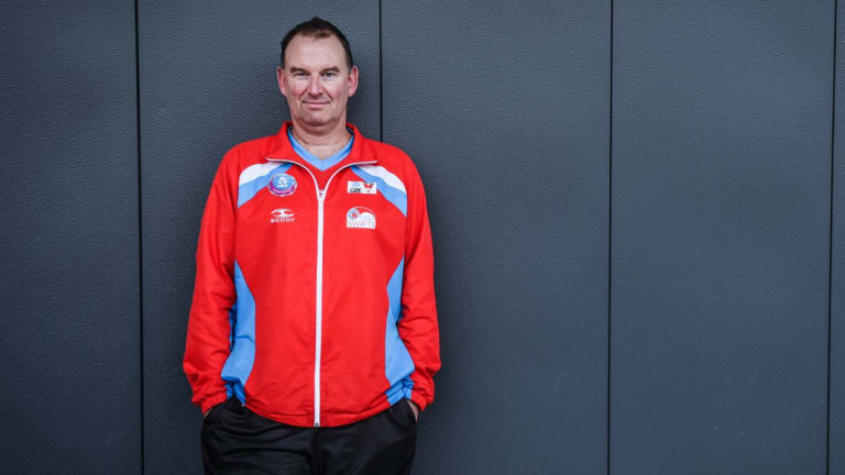 Swift rise: Rob Wright has been elevated to head coach at Collingwood Magpies after leaving NSW Swifts.