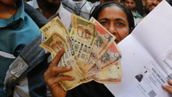 The day India's money vanished
