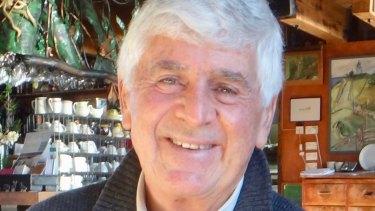 Former Melbourne University Press chairman Laurie Muller.