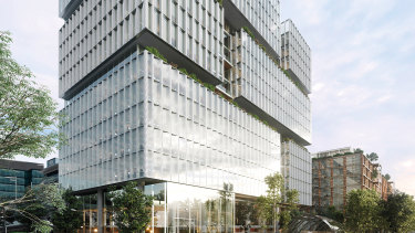 How the new $750 million Macquarie Exchange will look.