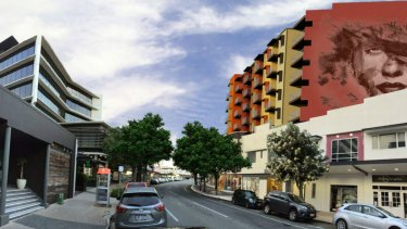 Designs by Mondo Architects for a proposed development on Sandgate Road, Nundah.