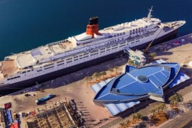 Luxury liner QE2 reopens as floating hotel in Dubai