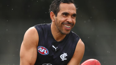 Eddie Betts and the Blues will face Gold Coast in Darwin in round 13.