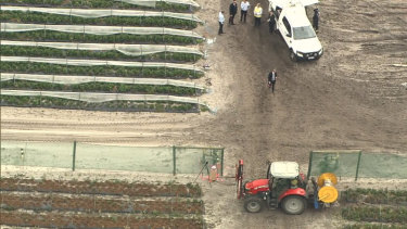 A worker has died at Pick Your Own Strawberry Farm in Bullsbrook.
