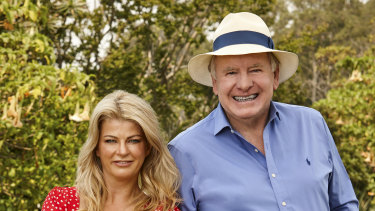 Better Homes and Gardens' Melissa King and Graham Ross.