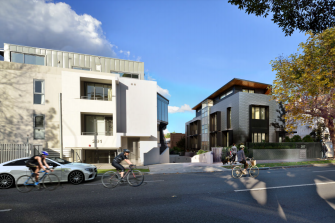A rendering of a shovel-ready project by Link Housing in Sydney's northern suburbs.