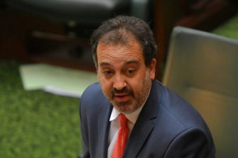 Victorian Minister for Racing Martin Pakula.