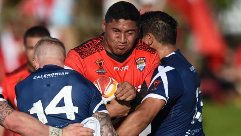 Pulling power: Tongan star Jason Taumalolo is one of the big drawcards for the proposed New York Test.