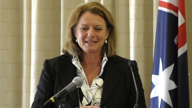 Helen Kroger has no problem with quotas - but she is unable to endorse them.