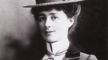 Victorian suffragette Vida Goldstein.