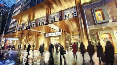 Debenhams has said it will shut its only Australian store.
