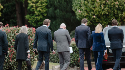 Who's who of broadcasting represented at David Leckie's funeral