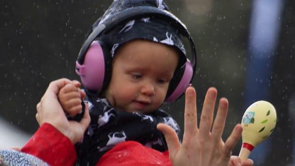 Tash Sultana, Meg Mac shine through the rain at Lost Picnic