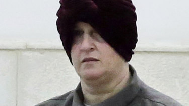 Malka Leifer appears in a Jerusalem court in February 2018.