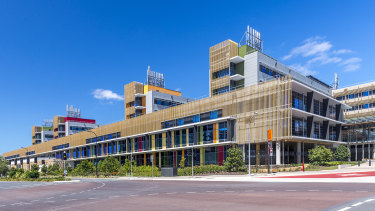 The Sunshine Coast University Hospital where the mystery woman has been cared for.