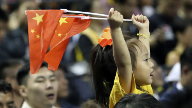 Despite the controversies, fans still attended the game in Shanghai.