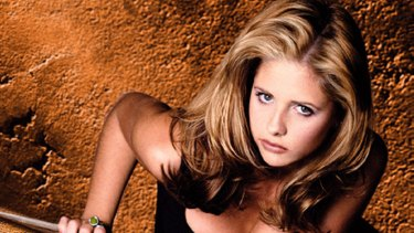 Sarah Michelle Gellar in Buffy the Vampire Slayer. Where it all began?