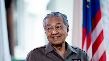 Stocks have slumped since Mahathir Mohamad's surprise election victory last year.