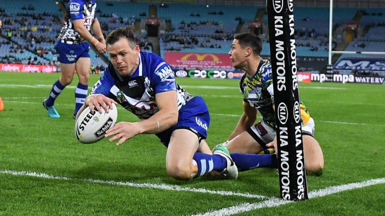 Try machine: Brett Morris has scored 143 tries in his NRL career.
