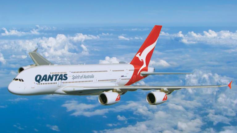 A Qantas A380, seen here in a file photo.