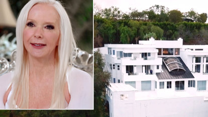 Woman shot dead at NFL team party in home of former Australian soap star