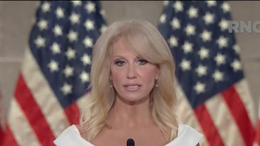 Kellyanne Conway attended the White House event last Saturday.