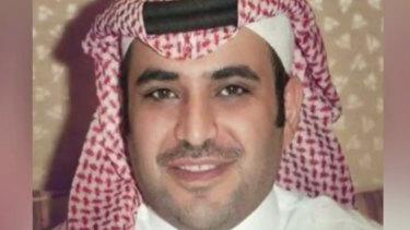 Saud al-Qahtani, a top aide for Saudi Crown Prince Mohammed bin Salman.