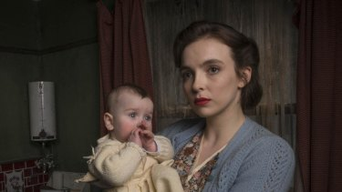 Jodie Comer in Rillington Place.