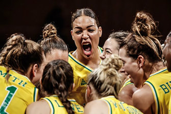 Basketball Australia is investigating an incident involving Opals star Liz Cambage.
