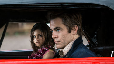 India Eisley and Chris Pine star in I Am the Night.