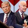 As it happened: Donald Trump, Joe Biden in fiery clash for first US Presidential debate