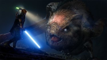 From massive creatures to hyperspace, Fallen Order sticks very close to Star Wars convention.