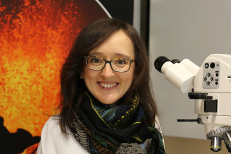 Volcanologist Dr Teresa Ubide says the UQ research has implications for the early detection of imminent eruptions.