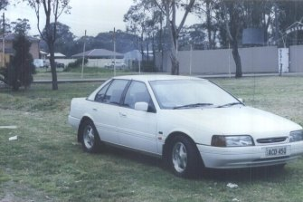 The 37-year-old was last seen in his 1992 white Ford Falcon. The car, unlocked and undamaged was found at Leppington, outside the Rebels Motorcycle Club six weeks later.