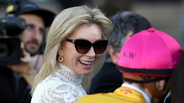 Gifted: Kim Waugh gave away shares in Oxford Tycoon.