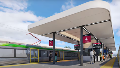 Furious Bayswater locals call for redesign of 'Bunnings trestle table' train station