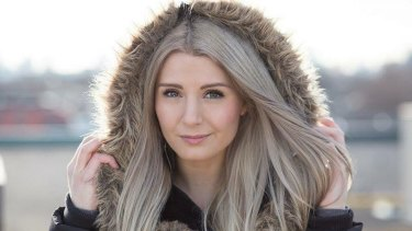 Controversial Canadian blogger Lauren Southern.