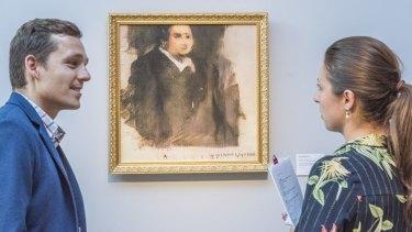 Christie's sold an AI-created art work called <em>Portrait of Edmond Belamy</em> for $612,000.
