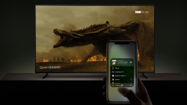 AirPlay 2 on Samsung and LG 2019 TVs will let you fling video from Apple devices to the big screen.