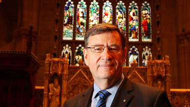 Anglican Archbishop of Sydney Glenn Davies, who is due to retire from the role in March.