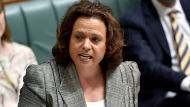 Shadow communications minister Michelle Rowland has consistently declined to rule out a write-down of the NBN.
